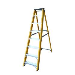 Lyte Ladders Heavy Duty Glassfibre Swingback Stepladder 8 Tread