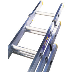 Lyte Ladders EN131 Trade 3 Section Extension Ladder 10 rung