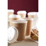 Huhtamaki DW9 Double Wall Insulated Hot Cup Cappuccino 9oz Pack 37