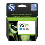 HP 951XL Original high yield cyan ink cartridge 383HPCN046AEBL