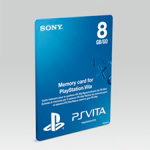 PS Vita 8GB Memory Card PS Vita