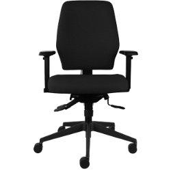 Universal Multi Adjustable Operator Chair Black