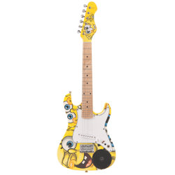 Spongebob 34 Electric Guitar CSpeaker Outfit
