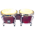 PP Tunable Bongos Natural Wood