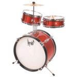 Herald 3pc Junior Drum Kit Red