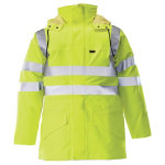 Alexandra High Visibility Gore Tex Jacket Yellow Size Medium