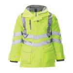 Alexandra Hi vis 7 in 1 storm coat size M