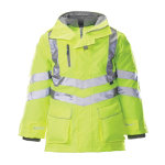 Alexandra Hi Vis Hi Viz High Visibility 7 in 1 coat size XL