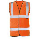 Alexandra Hi vis vest Orange size XL