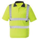 Alexandra Hi vis Poloshirt Yellow Size Extra Extra Large