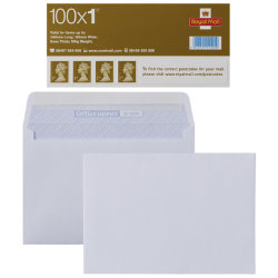 100 Royal Mail 1st class stamps and 500 C6 envelopes