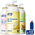 Tork Premium Air Freshener Aerosol Mixed Pack 12