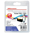 Office Depot Compatible Kodak 10B 10C Black Colour Inkjet Multipack 3949948