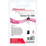 Office Depot Compatible Canon 526M Magenta Inkjet Cartridge CLI 526M