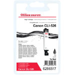 Office Depot Compatible Canon 526BK Black Inkjet Cartridge CLI 526BK