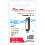 Office Depot Compatible Canon BCI 3EPC Photo Cyan Inkjet Cartridge