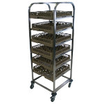 Craven Dishwasher Basket Trolley Stainless Steel