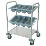 Craven Mobile Cutlery Trolley