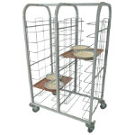 Craven Tray Clearing Trolley 10 Levels 20 Trays