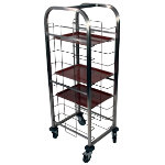 Craven Tray Clearing Trolley 12 Levels 12 Trays
