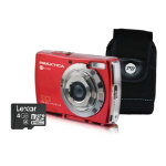 Praktica DigiPix 1027 Digital Camera Kit Red