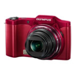 Olympus SZ 14 3D High Zoom Digital Camera Red