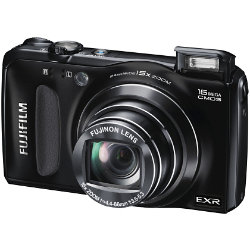 Fujifilm Fuji FinePix F660EXR 3D Advanced Digital Camera - Black