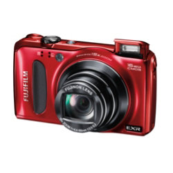 Fujifilm Fuji FinePix F660EXR 3D Advanced Digital Camera - Red