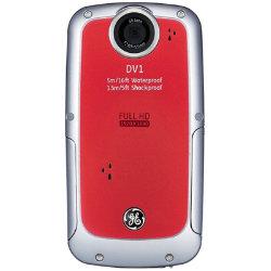 Ge Dv-1 Digital Pocket Cam - Red
