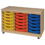 Tray Unit 18 Trays Red 810 x 700 x 495 mm Included Trays