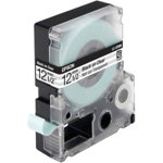 Epson LC 4TBN9 Label Tapes Black on White Transparent 12mm x 9m