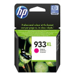 Original HP No933XL high capacity magenta printer ink cartridge CN055A