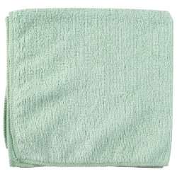 Vileda Microtuff Lite Cloth Green Pack of 10