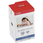 Canon Ink Cartridge and Photo Paper KP 108IN Cyan Magenta Yellow 250gsm