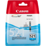 Canon 521C Original Cyan Ink Cartridge 2934B009