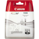 Canon 521BK Original Black Ink Cartridge 2933B008
