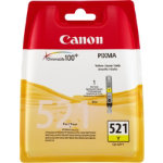 Canon 521Y Original Yellow Ink Cartridge 2936B008