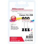 Office Depot Canon CLI 526CMY 3 Colour Inkjet Multipack