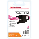 Office Depot Compatible for Brother LC1240 Magenta Ink Cartridge LC 1240MG