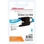 Office Depot Compatible for Brother LC1240 Cyan Ink Cartridge LC 1240CY