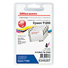 Office Depot Compatible for Epson T1285 Black 3 Colours Ink Cartridge T1285