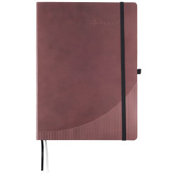 Foray Notebook Hardcover Burgundy A4 Ruled