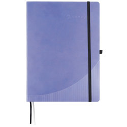 Foray Notebook Hardcover Purple A4 Ruled