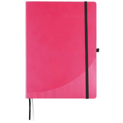 Foray Notebook Hardcover Pink A4 Ruled