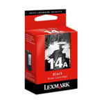 Lexmark 14A Original standard capacity black ink cartridge N A