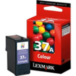 Lexmark 37A Original standard capacity tricolour ink cartridge N A