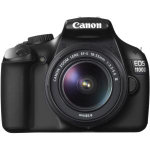 Canon EOS 1100D 12MP Digital SLR Camera with 18 55mm lens