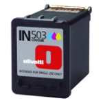 Olivetti IN503 Original colour ink cartridge B0509