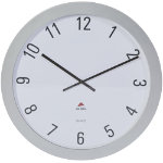 Alba Wall Clock HORGIANT Metallic Grey