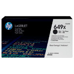 Original HP CE260XD high capacity black toner cartridge twin pack HP No649X